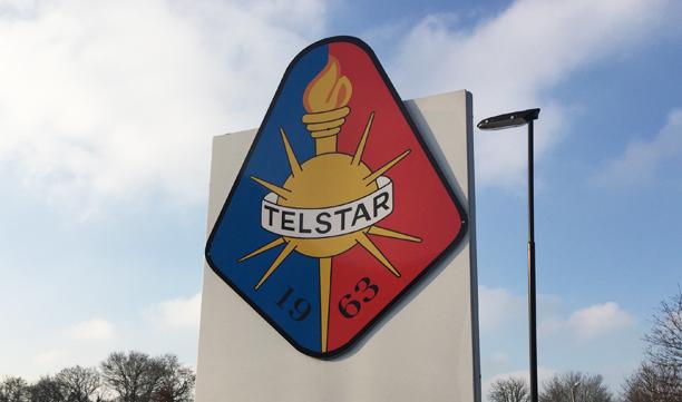 Glas Werkt voor SC Telstar