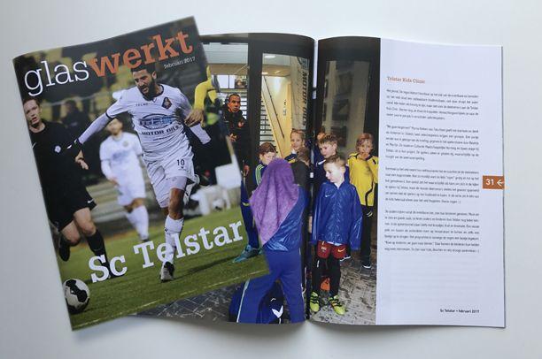 Magazine Glas Werkt voor Telstar