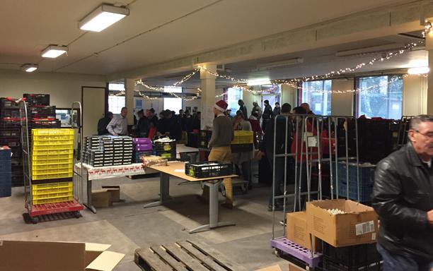 Kerstpakketten / Voedselbank Haarlem