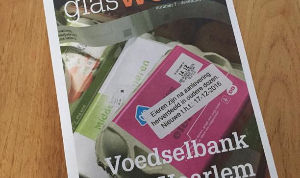 Glas Werkt voor Voedselbank Haarlem