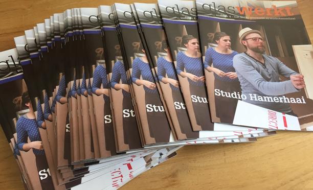 Magazine Glas Werkt voor Studio Hamerhaai
