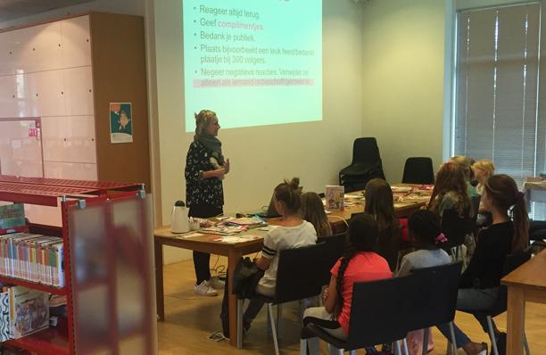 Workshop Modebloggen / Bibliotheek Zuid-Kennemerland