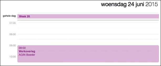 AGIN Boeder Gerechtsdeurwaarders / werkoverleg